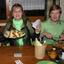 Familie mit gro en appetit